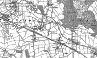 Old Map of Norton Canon, 1886