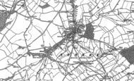 Old Map of Nunney, 1884 - 1902