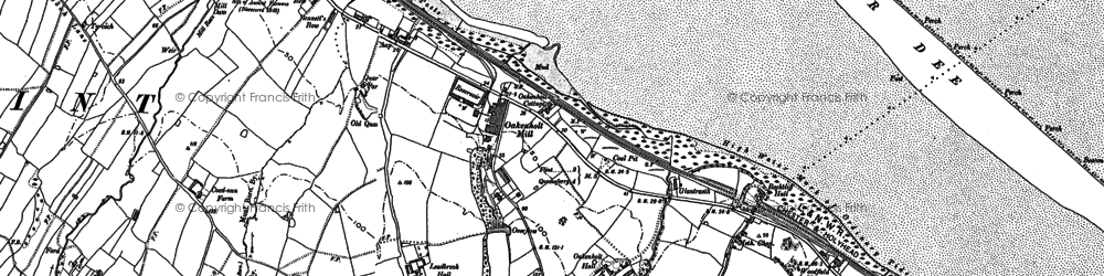 Old map of Lead Brook in 1898