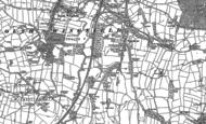 Old Map of Oakerthorpe, 1879
