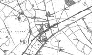 Old Map of Odsey, 1901