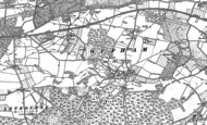Old Map of Offham, 1866 - 1895