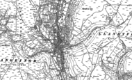 Old Map of Ogmore Vale, 1897 - 1898