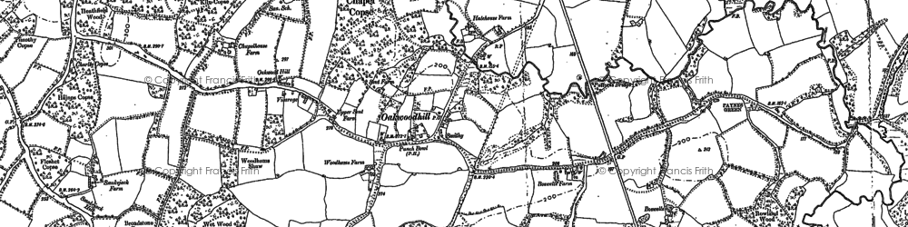 Old map of Leith Vale in 1913