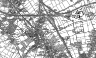 Old Map of Old Basford, 1881 - 1899