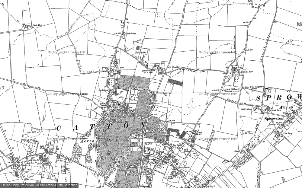 Old Maps of Norwich Airport Francis Frith