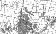 Old Map of Old Catton, 1883 - 1884