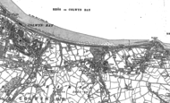 Old Map of Old Colwyn, 1911