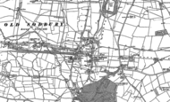 Old Map of Old Sodbury, 1881