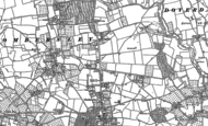 Old Map of Oldfield, 1883 - 1884