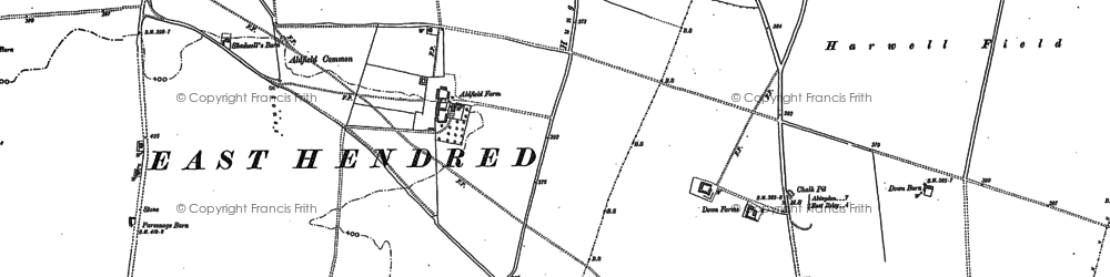 Old map of Aldfield Common in 1898