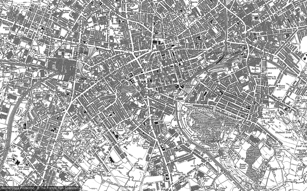 Old Maps of Oldham Francis Frith