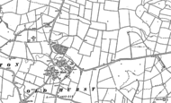 Old Map of Oldhurst, 1887 - 1900