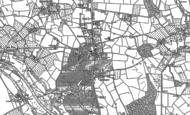 Old Map of Ombersley, 1883