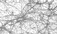 Old Map of Onllwyn, 1903