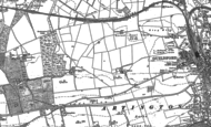 Old Map of Onslow Village, 1895