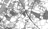 Old Map of Orpington, 1895
