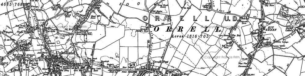 Old map of Tontine in 1892
