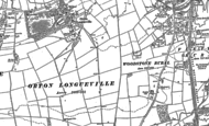 Old Map of Orton Malborne, 1887