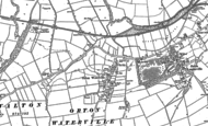 Old Map of Orton Waterville, 1887 - 1899