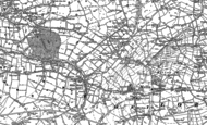 Old Map of Osbaldeston, 1892