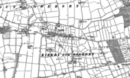 Old Map of Osgodby, 1886