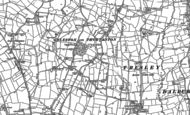 Old Map of Osleston, 1880 - 1881