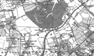 Old Map of Osterley, 1894 - 1912