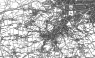 Old Map of Oswaldtwistle, 1890 - 1906