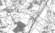 Old Map of Ottinge, 1896 - 1897