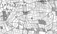 Old Map of Oughterby, 1899