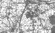 Old Map of Outwood, 1892
