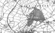 Old Map of Over Norton, 1898