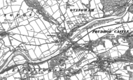 Old Map of Ovingham, 1895