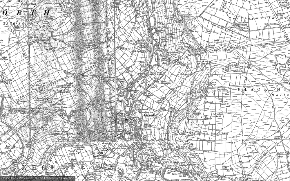 Old Map of Historic Map covering Aberdeen in 1848