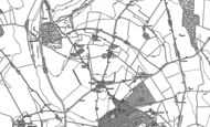 Old Map of Oxenwood, 1909 - 1922