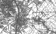 Old Map of Oxhey, 1896 - 1934