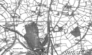 Old Map of Oxley, 1883 - 1886