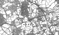 Old Map of Oxted, 1895 - 1910