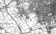 Old Map of Oxton, 1909