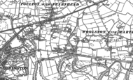 Old Map of Paddington, 1894 - 1905