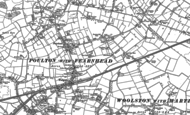 Old Map of Padgate, 1905