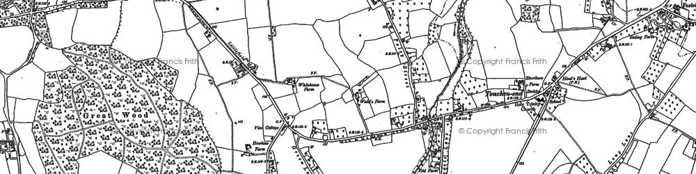 Old map of Braywoodside in 1910
