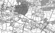 Old Map of Pallington, 1886 - 1887