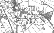 Old Map of Pampisford, 1885