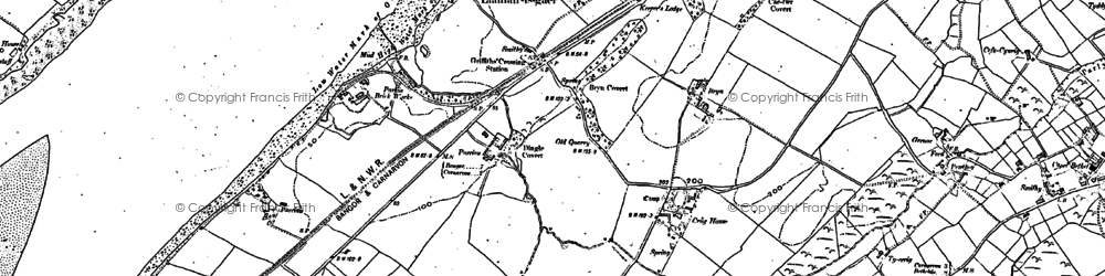 Old map of Griffith's Crossing in 1899