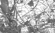 Old Map of Park Village, 1885 - 1886
