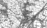 Old Map of Parkgate, 1890