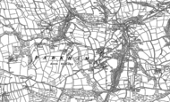 Old Map of Parkham, 1884 - 1904