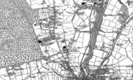Old Map of Parkhurst, 1896 - 1907